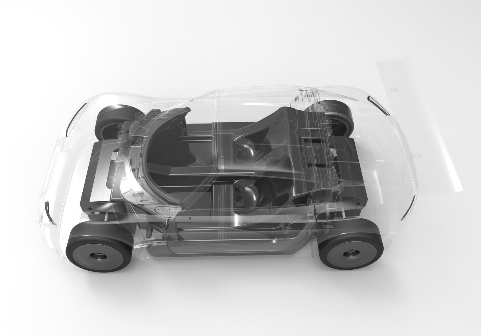 MTech Conception et développement de véhicule - maquette 3D avec carrosserie transparente